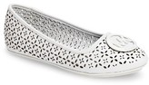 MICHAEL Michael Kors Girl's Lyndsay Rae Perforated Ballet Flat