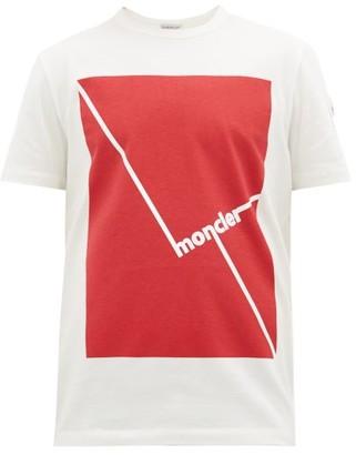 Moncler Logo-print Cotton T-shirt - White