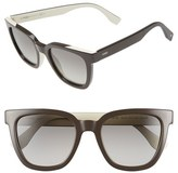 Fendi Women's 51Mm Sunglasses - Grey/ Cream