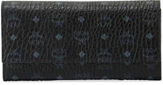 MCM Color Visetos Large Tri-Fold Wallet