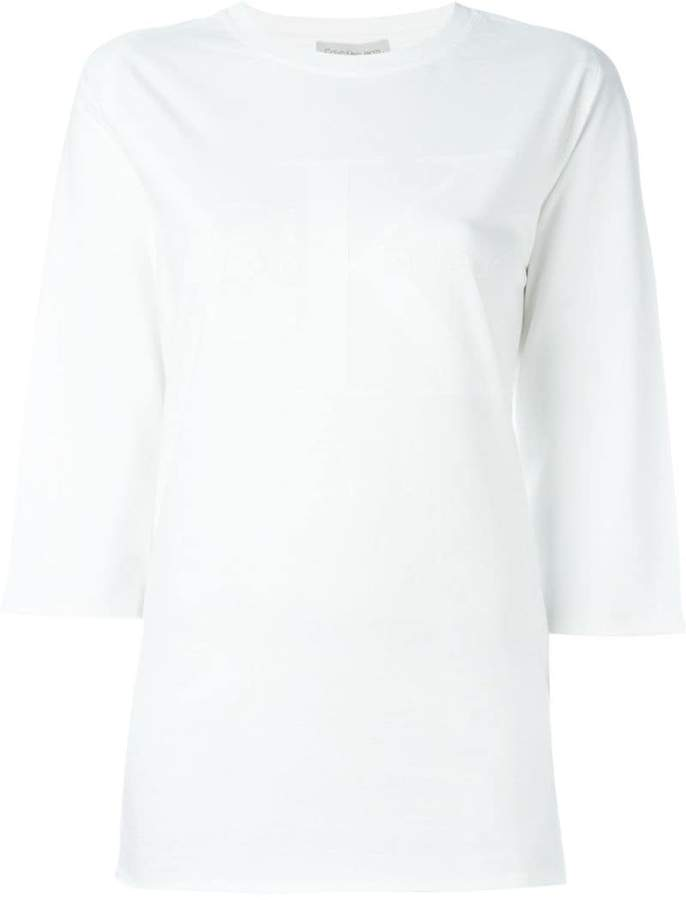 CK Calvin Klein tonal logo print T-shirt