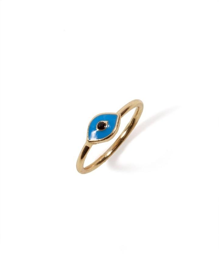 BaubleBar Evil Eye Midi Ring