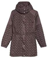 Andrew Marc Plus Size Women's Quilted Down Jacket