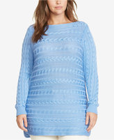 Lauren Ralph Lauren Plus Size Cable-Knit Sweater