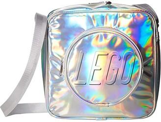 Lego Brick Crossbody Handbag (Silver) Handbags