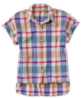 L.L. Bean Signature Madras Shirt, Short-Sleeve