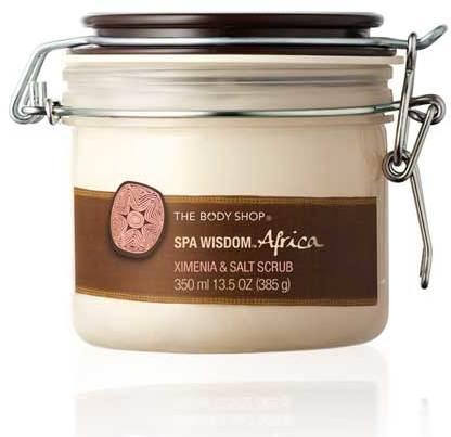 The Body Shop Spa WisdomTM Africa Ximenia & Salt Scrub