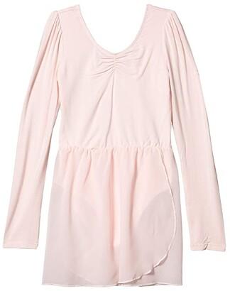 Flo Active Puff Long Sleeve Leotard Dress (Little Kids/Big Kids)