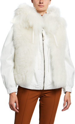 Mr & Mrs Italy Hooded Parka w/ Detachable Fur Vest