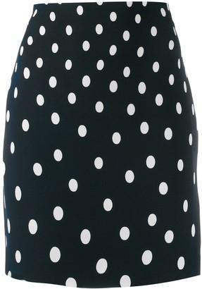 Versace Pre-Owned Polka Dot Print Short Skirt