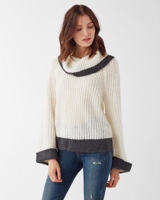 Splendid Ophelia Cowl Neck Sweater