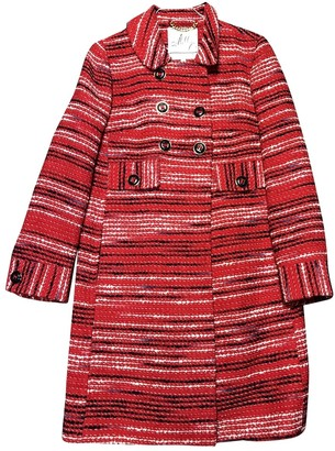 Milly Red Wool Jacket for Women