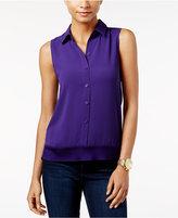 MICHAEL Michael Kors Rib-Trim Shirt