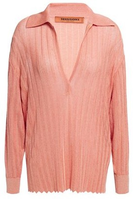 Missoni Ribbed-knit Top