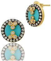 Freida Rothman Turquoise Studs