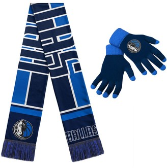 Dallas Mavericks Hol Gloves & Scarf Set