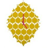 DENY Designs Secret Garden Pattern Baroque Clock