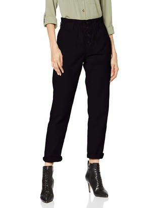 New Look Women's Pbag Plackett Sunflower Trouse (6264885) Trousers