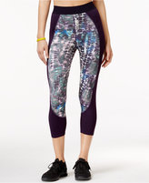 Jessica Simpson The Warm Up Juniors' Printed Cropped Leggings