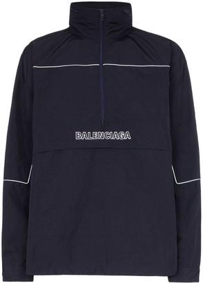 Balenciaga Oversized Windbreaker Jacket