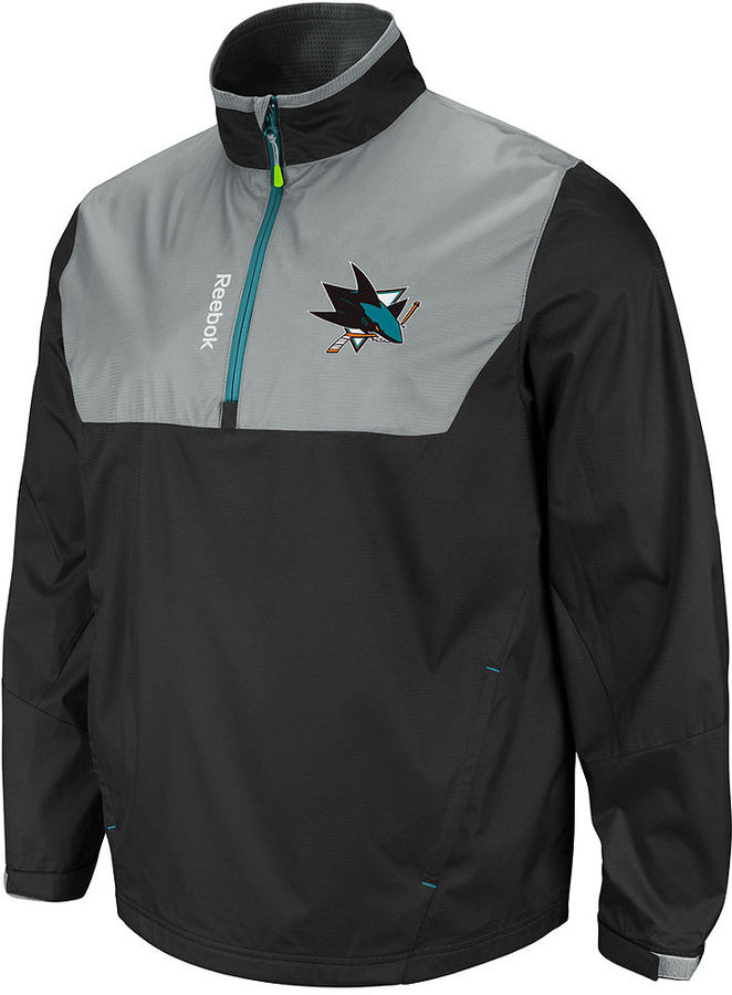 Reebok NHL Jacket, San Jose Sharks Center Ice Jacket