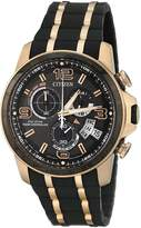 Citizen Eco-Drive Men's BY0119-02E Chrono-Time A-T Limited Edition Analog Display Watch