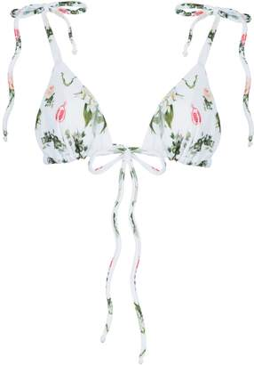 And Saunter String Triangle Top Floral