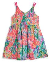 Lilly Pulitzer Toddler's, Little Girl's & Girl's Rue Printed Fit-and-Flare Dress