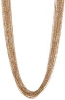 Natasha Accessories Million Row Chain Necklace