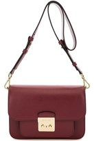 Michael Kors Women's Purple Leather Shoulder Bag.