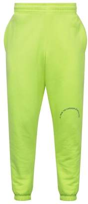 Martine Rose fluorescent yellow sweat pants