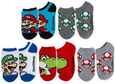 LICENSED PROPERTIES Boys 5-Pk. Super Mario No Show Socks