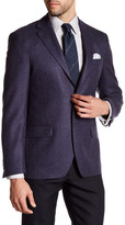 Ike Behar Notch Collar Wool Sport Coat