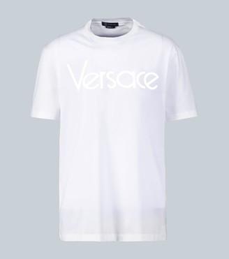 Versace Vintage logo cotton T-shirt
