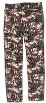Givenchy Floral & Camouflage Pants