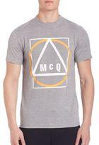 McQ by Alexander McQueen 1271 - Grey Mouline Tee