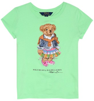 Polo Ralph Lauren Kids Printed cotton-jersey T-shirt