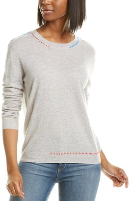 Autumn Cashmere Whipstitch Cashmere Sweater