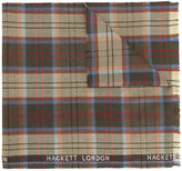 Hackett plaid scarf