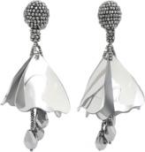 Oscar de la Renta Mini Impatiens Drop Earrings