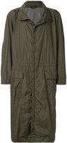 Issey Miyake long raincoat