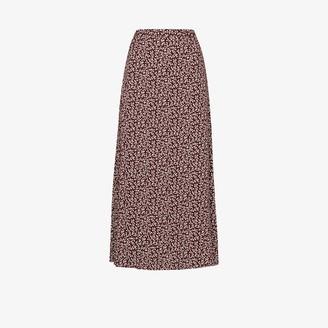 Reformation Bea Floral Print Midi Skirt