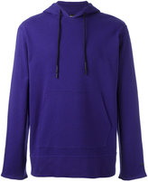 Y-3 kangaroo pocket hoodie - men - Cotton - XS