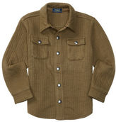 Ralph Lauren Boys 2-7 Quilted Shirt Jacket