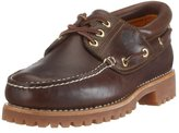 Timberland Men's Classic 3 Eye Lug Boat Shoe,Brown,11 W US