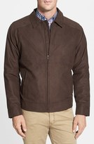 Cutter & Buck Men's Big & Tall 'Roosevelt' Water Resistant Full Zip Jacket