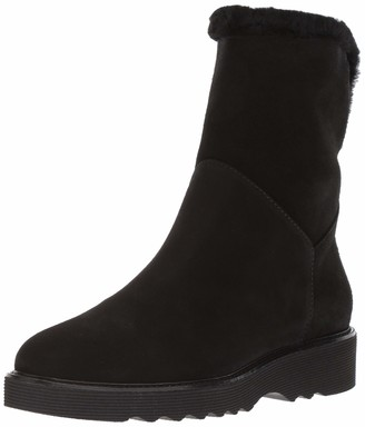 Aquatalia Women's Kaitlyn Textured Suede Ankle Boot