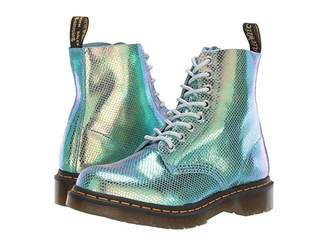 Dr. Martens 1460 Pascal Iridescent (Blue Iridescent Texture) Women's Shoes