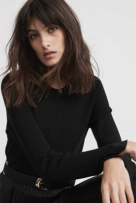 Witchery Curve Hem Knit