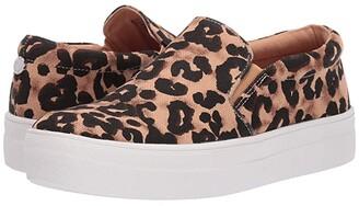 Steve Madden Gills-A Sneaker (Leopard) Women's Shoes